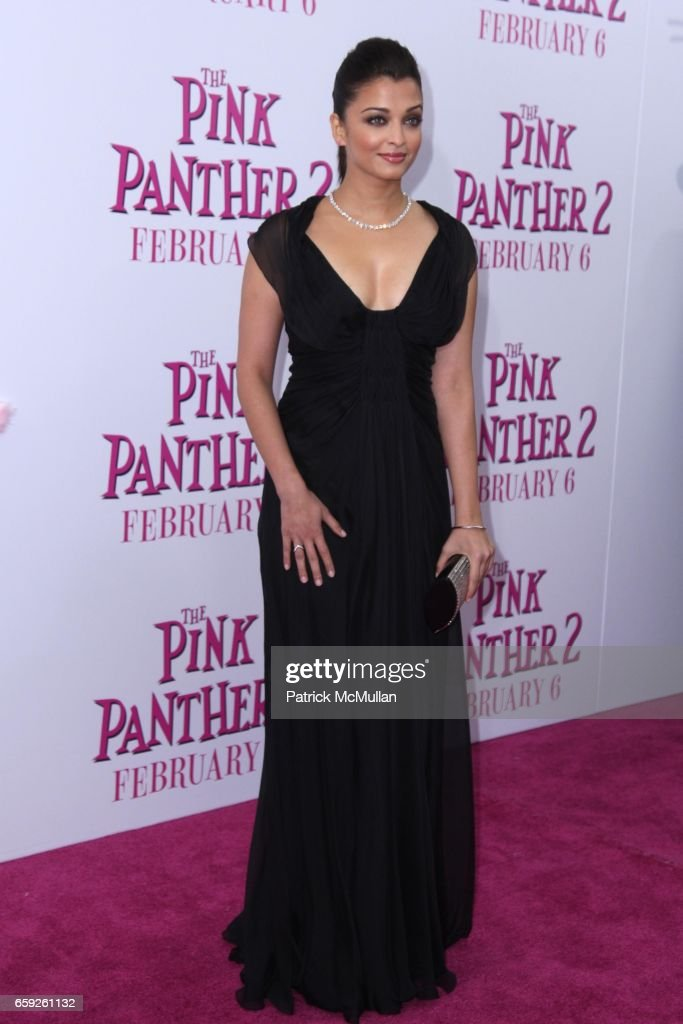 Aishwarya Rai Bachchan attends COLUMBIA PICTURES and MGM Present the World Premiere of THE PINK PANTHER 2 at Ziegfeld Theatre on February 3 2009 in...
