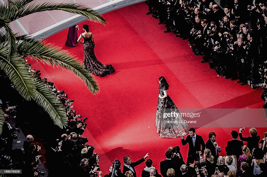 Aishwarya Rai Bachchan attends the 'Inside Llewyn Davis' Premiere during the 66th Annual Cannes Film Festival at Palais des Festivals on May 19, 2013 in Cannes, France.