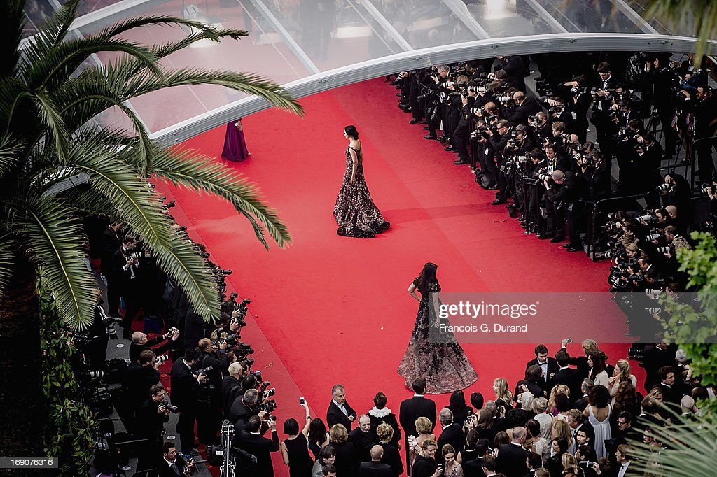 Aishwarya Rai Bachchan attends the 'Inside Llewyn Davis' Premiere during the 66th Annual Cannes Film Festival at Palais des Festivals on May 1