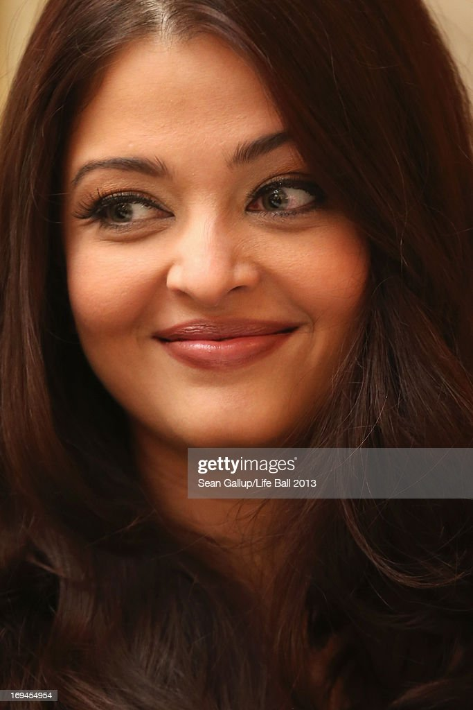 Aishwarya Rai Bachchan attends the `Life Ball 2013 Press Conference` at Hotel Imperial Vienna on May 25 2013 in Vienna Austria