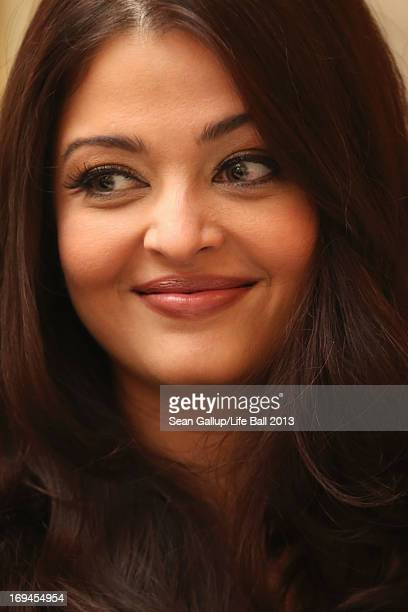 Aishwarya Rai Bachchan attends the 'Life Ball 2013 Press Conference' at Hotel Imperial Vienna on May 25 2013 in Vienna Austria
