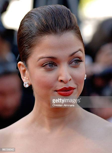Aishwarya Rai Bachchan attends the 'On Tour' Premiere at the Palais des Festivals during the 63rd Annual Cannes Film Festivalon May 13 2010 in Cannes...