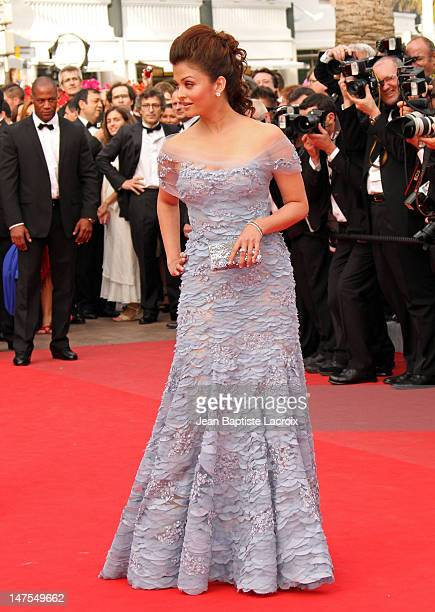 Aishwarya Rai Bachchan attends the Opening Night Premiere of 'Robin Hood' at the Palais des Festivals during the 63rd Annual International Cannes...