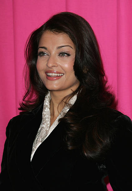Aishwarya Rai Bachchan attends The Pink Panther 2 Photocall at the Georges V Hotel on February 9 2009 in Paris France