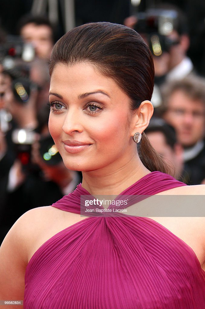 Aishwarya Rai Bachchan attends the Premiere of `Wall Street Money Never Sleeps` held at the Palais des Festivals during the 63rd Annual International.