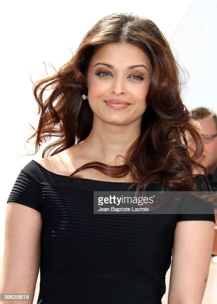 Aishwarya Rai Bachchan attends the 'Raavan' Photocall at the Salon Diane at The Majestic during the 63rd Annual Cannes Film Festival on May 17 2010...