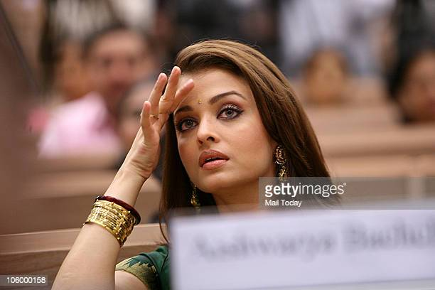 Aishwarya Rai Bachchan during the 57th National Film Awards function in New Delhi on October 22 2010