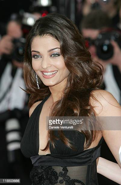 Aishwarya Rai during 2005 Cannes Film Festival 'Lemming' Premiere in Cannes France