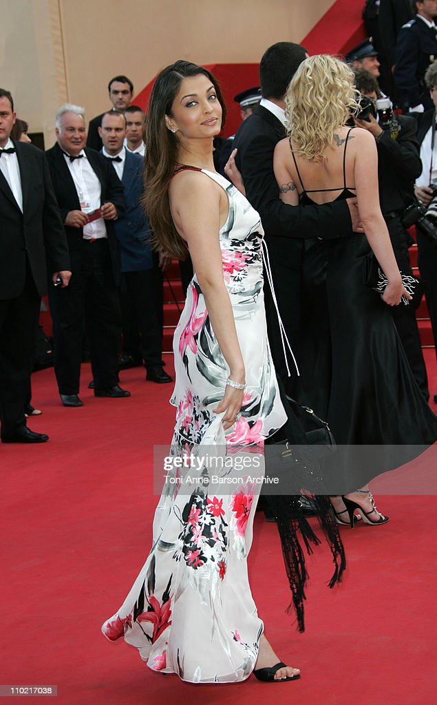 Aishwarya Rai during 2005 Cannes Film Festival `Match Point` Premiere in Cannes France
