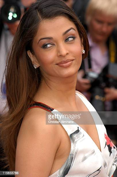 Aishwarya Rai during 2005 Cannes Film Festival 'Match Point' Premiere in Cannes France
