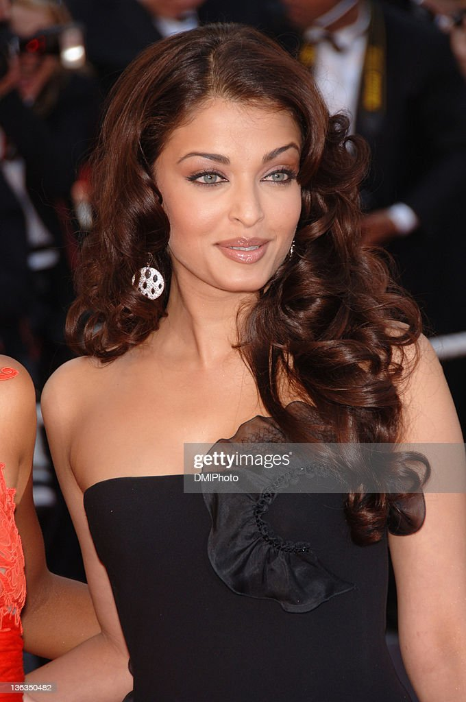 Aishwarya Rai during Cannes Film Festival 'Da Vinci Code' gala at Palais des Festivals Cannes in Cannes France