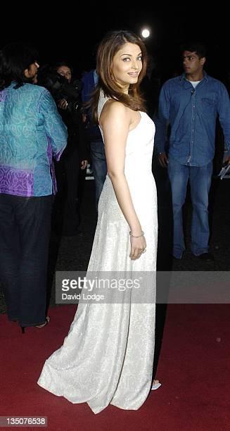 Aishwarya Rai during Sangeet Awards 2004 Arrivals at Royal Albert Hall in London Great Britain