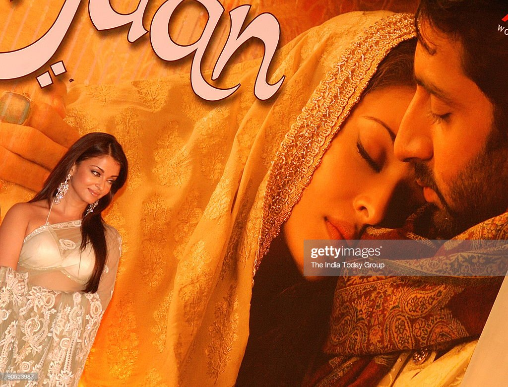 Aishwarya Rai during the Music launch of Umrao Jaan in Mumbai Maharashtra India