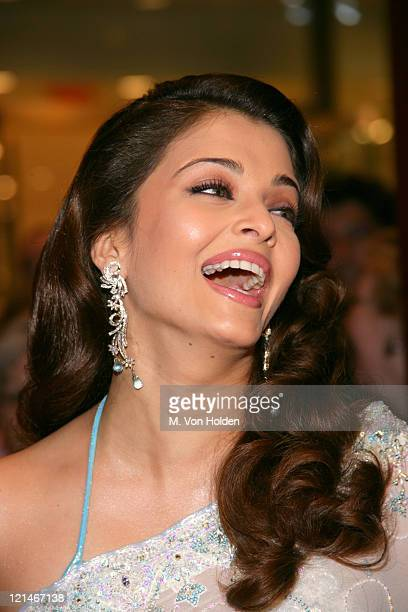 Aishwarya Rai during Time Magazine Celebrates the 100 Most Influential People Issue at Time Warner Center in New York New York United States