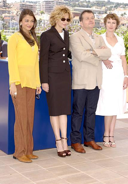 Aishwarya Rai Meg Ryan Patrice Chereau president and Karin Viard