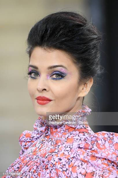 "Aishwarya Rai walks the runway during the ""Le Defile L'Oreal Paris"" Show as part of Paris Fashion Week on September 28, 2019 in Paris, France."