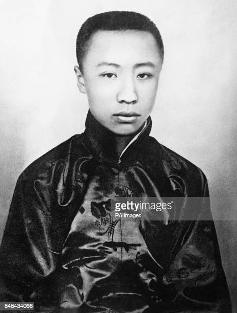AisinGioro Puyi the former Xuantong Emperor of China who abdicated in 1912 and still lives in Peking under the name of Henry Puyi and is often...