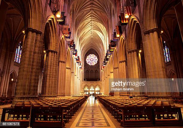 Aisle of The National Cathedral, Washington DC