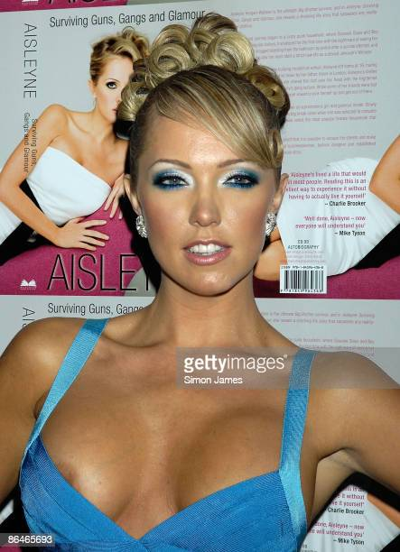 Aisleyne Horgan Wallace attends her book launch party at Studio Valbonne on May 6 2009 in London England