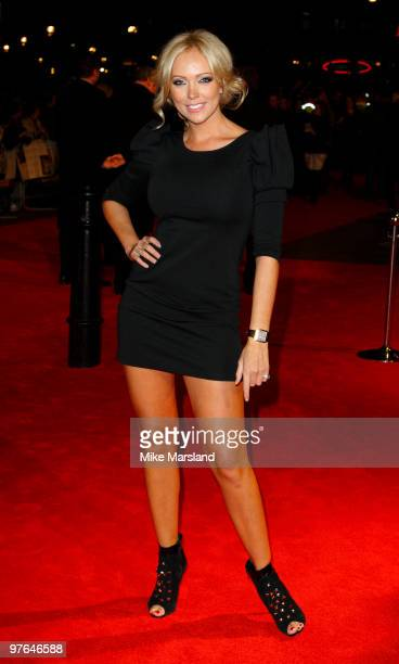 Aisleyne Horgan Wallace attends the premiere of 'The Bounty Hunter' at Vue Leicester Square on March 11 2010 in London England