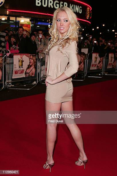 Aisleyne Horgan Wallace during 'I Want Candy' London Premiere Red Carpet at Vue West End in London Great Britain