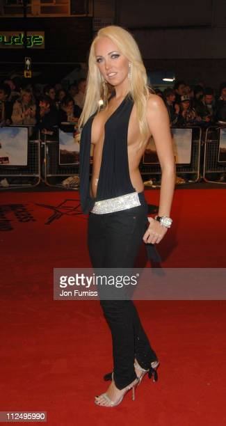 Aisleyne Horgan Wallace during 'Jackass Number Two' London Premiere Foyer at VUE West End in London Great Britain