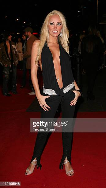 Aisleyne Horgan Wallace during 'Jackass Number Two' London Premiere Red Carpet at VUE CInema London in London Great Britain
