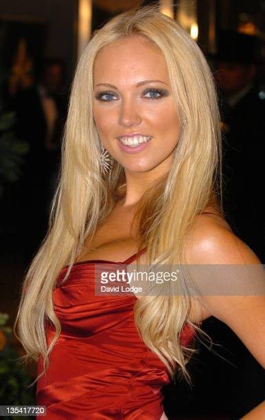 Aisleyne Horgan Wallace during Screen Nation Film and Television Awards 2006 Outside Arrivals at London Hilton in London Great Britain