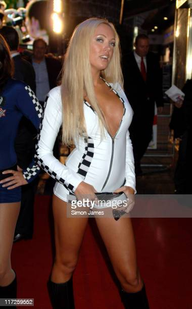 Aisleyne Horgan Wallace during Talladega Nights The Ballad of Ricky Bobby UK Premiere Arrivals at Empire Leicester Square in London Great Britain