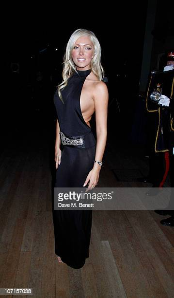 Aisleyne HorganWallace attends the Hope For Heroes dinner at the Natural History Museum on November 25 2010 in LondonEngland