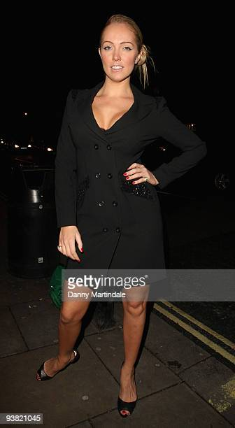 Aisleyne HorganWallace attends the launch party for season 6 of 'ITV At The Movies' on December 3 2009 in London England