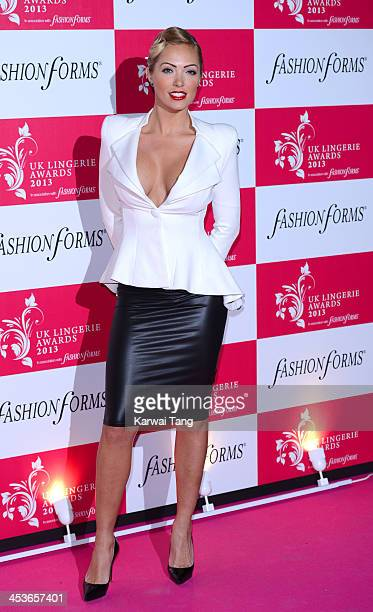 Aisleyne HorganWallace attends the UK Lingerie Awards held at the Freemasons Hall on December 4 2013 in London England