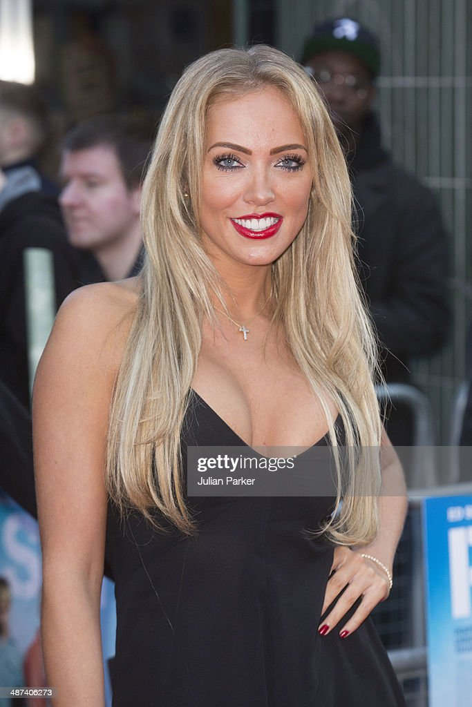 Aisleyne Horgan-Wallace attends the UK Premiere of 'Plastic' at Odeon West End on April 29, 2014 in London, England.