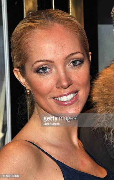 Aisleyne HorganWallace attends the UK premiere of 'The Eagle' at The Empire Cinema on March 9 2011 in London England
