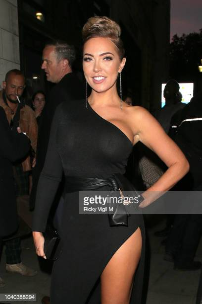 Aisleyne HorganWallace seen attending National Reality TV Awards at Porchester Hall on September 25 2018 in London England