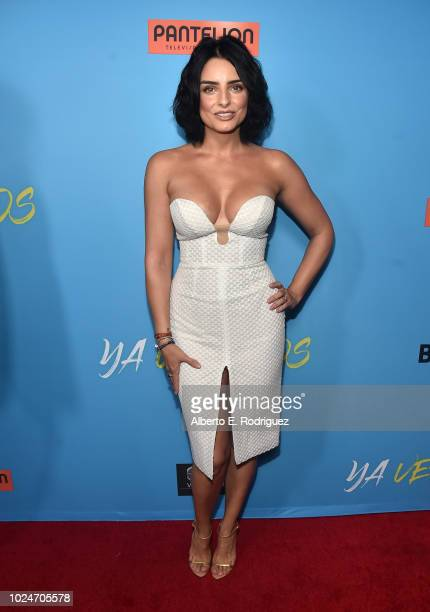 Aislin Derberz attends the premiere of Pantelion Films' Ya Veremos at Regal Cinemas LA LIVE Stadium 14 on August 27 2018 in Los Angeles California