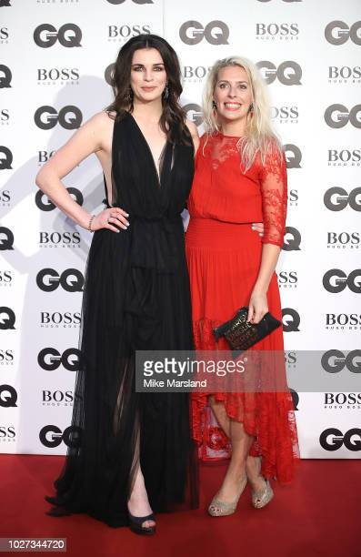 Aisling Bea and Sara Pascoe attend the GQ Men of the Year awards at Tate Modern on September 5 2018 in London England