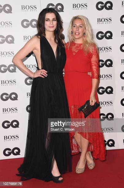 Aisling Bea and Sara Pascoe attend the GQ Men of the Year awards at the Tate Modern on September 5 2018 in London England