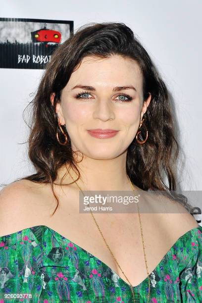 Aisling Bea arrives at the 13th Annual Oscar Wilde Awards on March 1 2018 in Santa Monica California