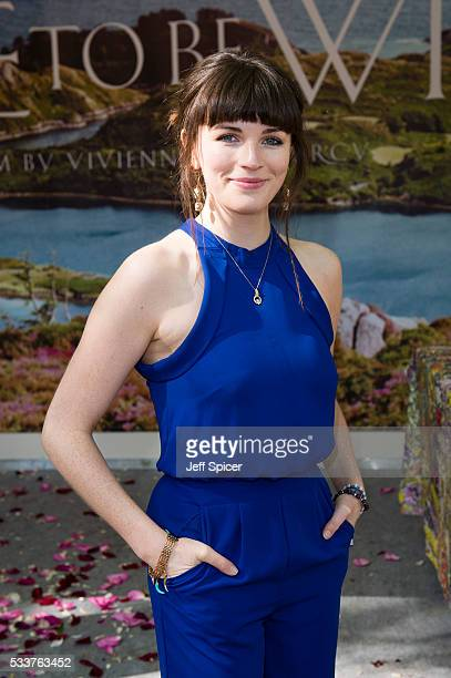Aisling Bea attends Chelsea Flower Show press day at Royal Hospital Chelsea on May 23 2016 in London England
