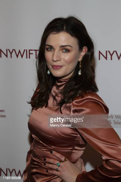 Aisling Bea attends the 2019 40th Annual NYWIFT Muse Awards at New York Hilton Midtown on December 10 2019 in New York City