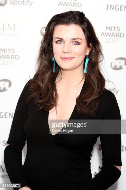 Aisling Bea attends the 26th annual Music Industry Trust Awards held at The Grosvenor House Hotel on November 6 2017 in London England