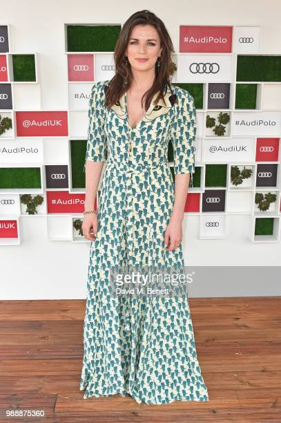 Aisling Bea attends the Audi Polo Challenge at Coworth Park Polo Club on July 1 2018 in Ascot England