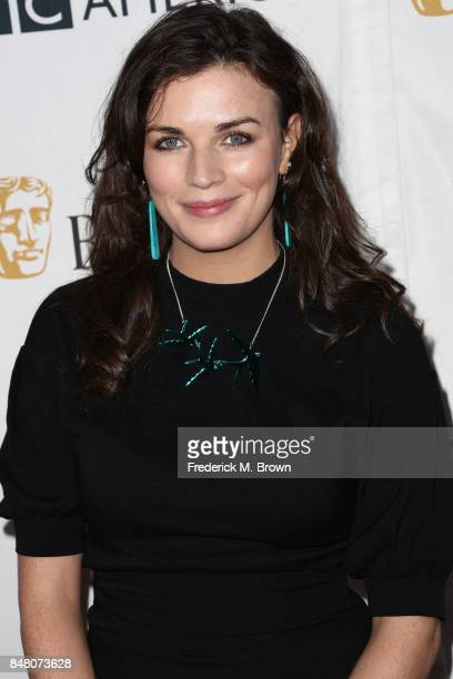 Aisling Bea attends the BBC America BAFTA Los Angeles TV Tea Party 2017 at The Beverly Hilton Hotel on September 16 2017 in Beverly Hills California