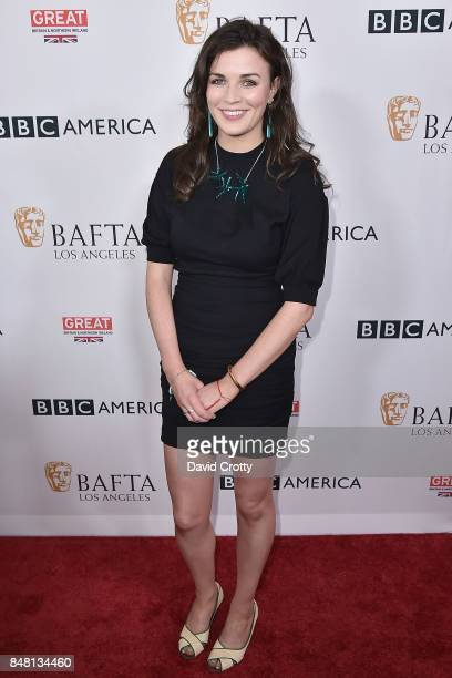 Aisling Bea attends the BBC America BAFTA Los Angeles TV Tea Party 2017 Arrivals at The Beverly Hilton Hotel on September 16 2017 in Beverly Hills...