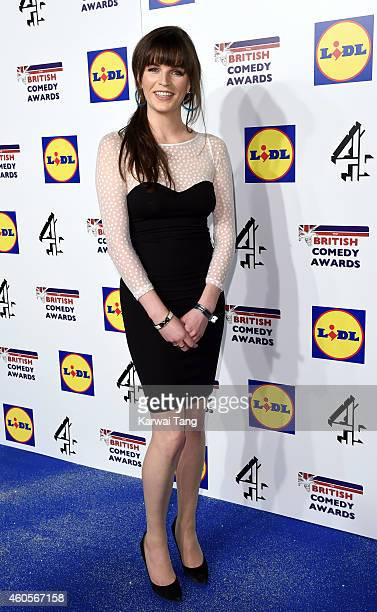 Aisling Bea attends the British Comedy Awards at Fountain Studios on December 16 2014 in London England