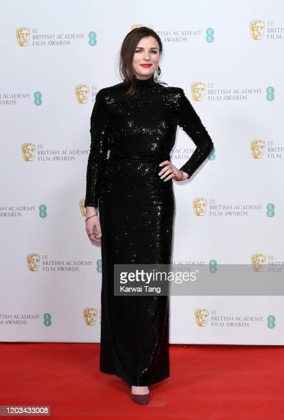 Aisling Bea attends the EE British Academy Film Awards 2020 Nominees' Party at Kensington Palace on February 01 2020 in London England
