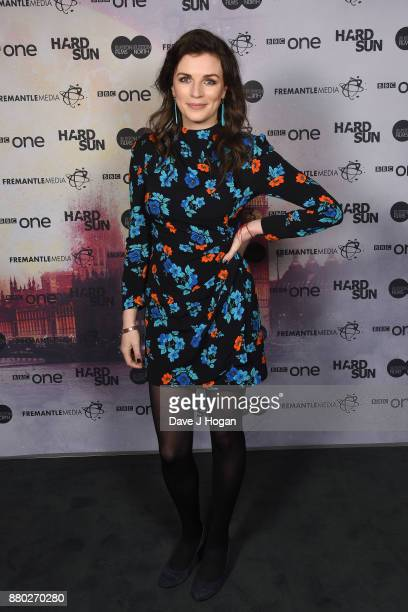 Aisling Bea attends the Hard Sun Premiere at BFI Southbank on November 27 2017 in London England