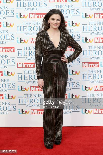 Aisling Bea attends the 'NHS Heroes Awards' held at the Hilton Park Lane on May 14 2018 in London England
