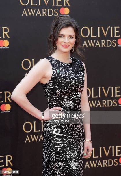 Aisling Bea attends The Olivier Awards with Mastercard at Royal Albert Hall on April 8 2018 in London England